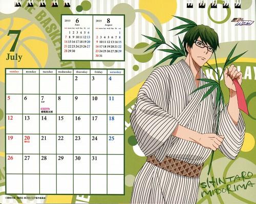 Tadatoshi Fujimaki, Production I.G, Kuroko no Basket, Kuroko No Basket Calendar 2015, Shintarou Midorima