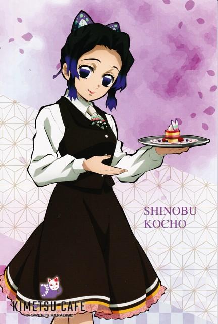 Koyoharu Gotouge, Ufotable, Kimetsu no Yaiba, Shinobu Kochou, Postcard