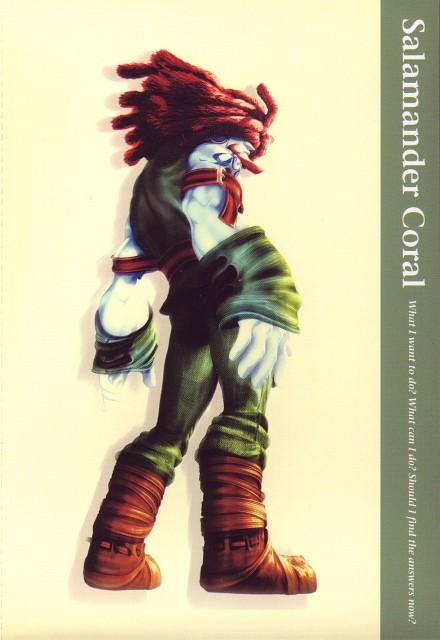 Square Enix, Final Fantasy IX Postcard Book, Final Fantasy IX, Amarant Coral