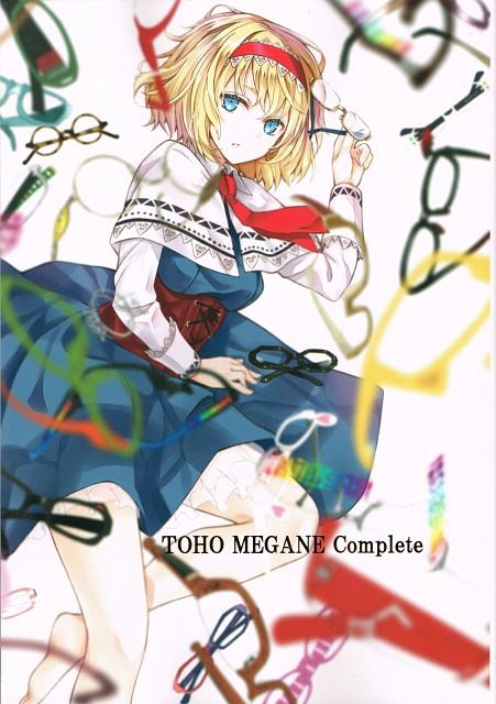 Tetsuhiro Nabeshima, Lunade Luna, TOUHOU MEGANE Complete, Touhou, Alice Margatroid