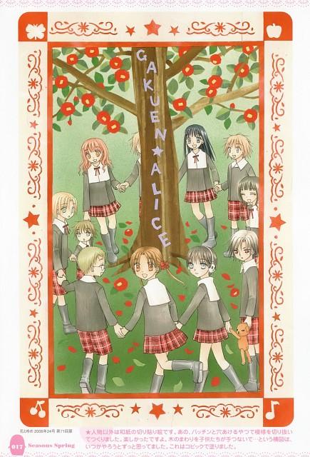 Tachibana Higuchi, Group TAC, Gakuen Alice, Gakuen Alice Illustration Fan Book, Anna Umenomiya