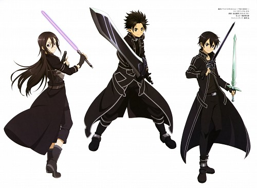 Kenji Tanabe, A-1 Pictures, Sword Art Online, Kazuto Kirigaya