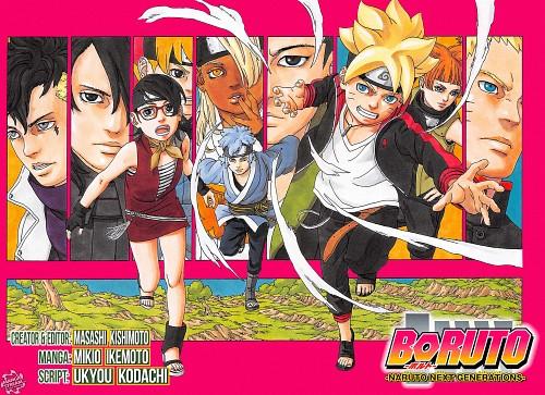 Mikio Ikemoto, Naruto, Sasuke Uchiha, Sarada Uchiha, Bolt Uzumaki
