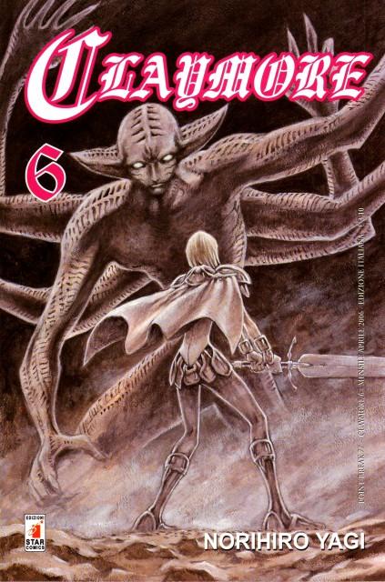 Norihiro Yagi, Madhouse, Claymore, Clare, Manga Cover