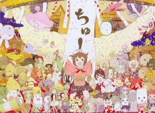 Okama, Brains Base, Kamichu, Chou, Yurie Hitotsubashi