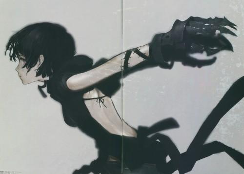huke, Black Rock Shooter, Ninja Zero Two