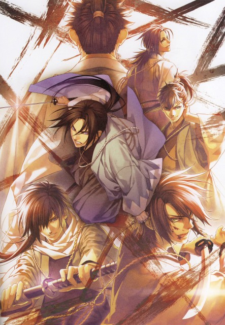 Yone Kazuki, Idea Factory, Hakuouki Shinsengumi Kitan, Hajime Saitou (Hakuouki), Isami Kondou (Hakuouki)