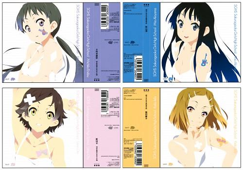 Kakifly, Makoto Mizuki, Kyoto Animation, K-On!, SGHS Sakuragaoka Girls High School