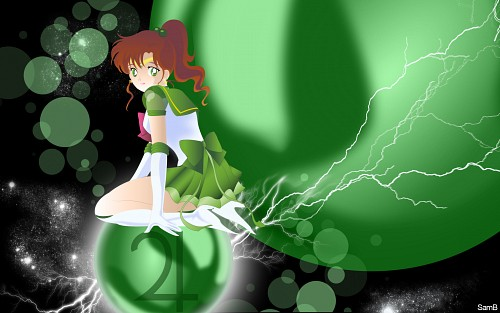 Toei Animation, Bishoujo Senshi Sailor Moon, Eternal Sailor Jupiter, Vector Art Wallpaper