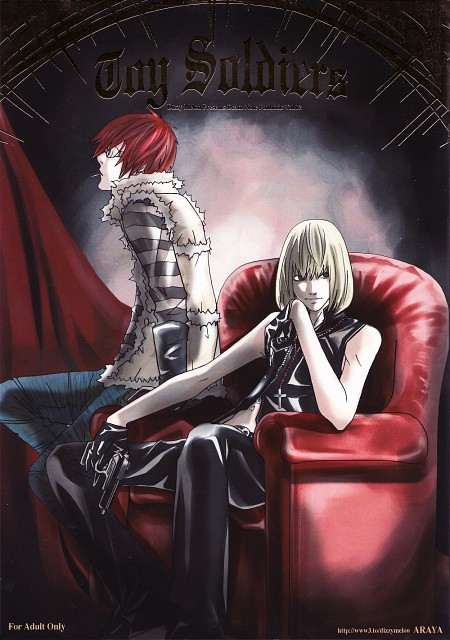 Death Note, Matt, Mello, Doujinshi