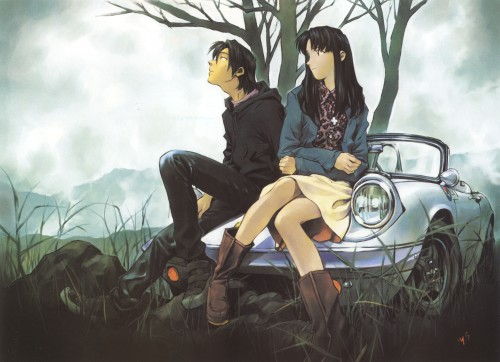 Yoshiyuki Sadamoto, Neon Genesis Evangelion, Die Sterne, Carmine, Misato Katsuragi