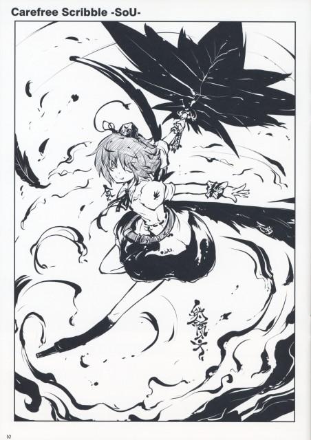 Tokiame, Carefree Scribble Vol. 3, Touhou, Aya Shameimaru