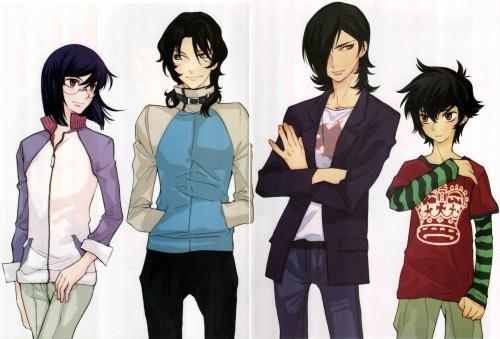 Yun Kouga, Mobile Suit Gundam 00, Gundam 00 Yun Kouga: Dear Meisters Comic & Arts, Setsuna F. Seiei, Allelujah Haptism