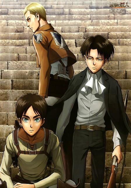 Hajime Isayama, Production I.G, Shingeki no Kyojin, Erwin Smith, Eren Yeager
