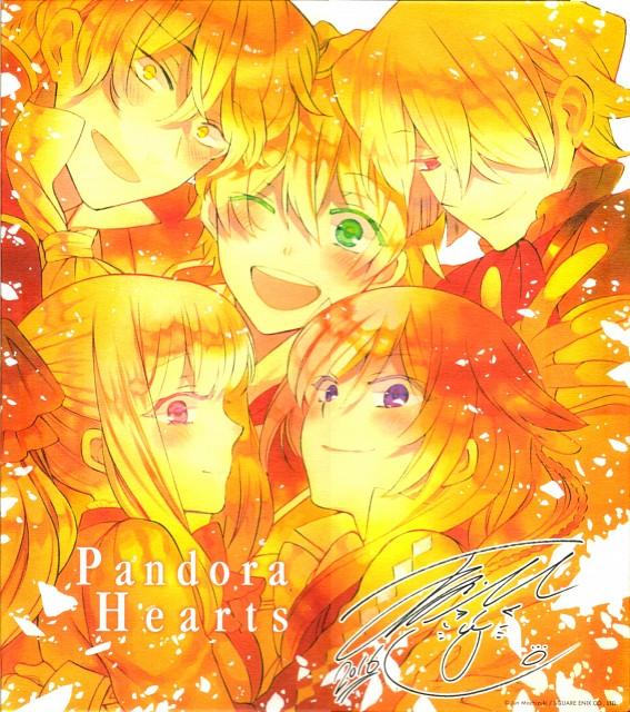 Jun Mochizuki, Xebec, Pandora Hearts, Alice, Oz Vessalius