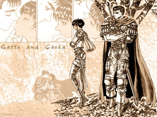Kentaro Miura, OLM Digital Inc, Berserk, Casca, Guts Wallpaper