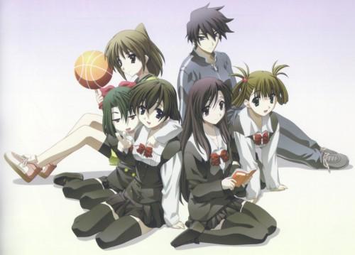 TNK, Overflow, School Days, Nanami Kanroji, Sekai Saionji