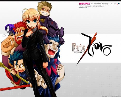 Ufotable, TYPE-MOON, Fate/Zero, Assassin (Fate/Zero), Rider (Fate/Zero)