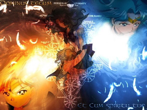 Toei Animation, Bishoujo Senshi Sailor Moon, Sailor Neptune, Sailor Uranus, Doujinshi Wallpaper