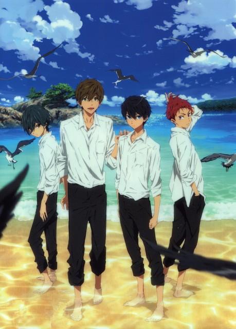 Futoshi Nishiya, Kyoto Animation, Free!, Haruka Nanase (Free!), Ikuya Kirishima