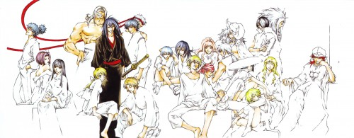 Akimine Kamijyo, Studio DEEN, Samurai Deeper Kyo, Sasuke Sarutobi (SDK), Fubuki (SDK)