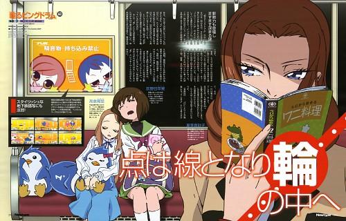 Takashi Kojima, Brains Base, Mawaru Penguindrum, Masako Natsume, Himari Takakura