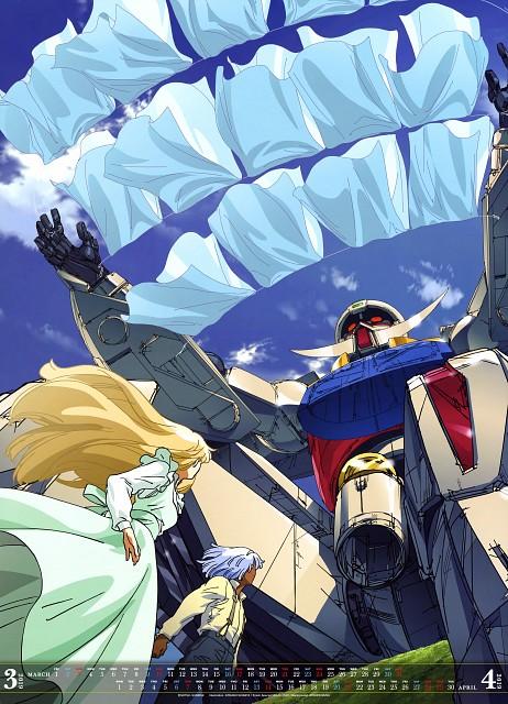 Atsushi Shigeta, Turn A Gundam, Loran Cehack, Dianna Soreil, Calendar