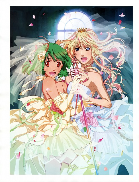Satelight, Macross Frontier, Ranka Lee, Sheryl Nome