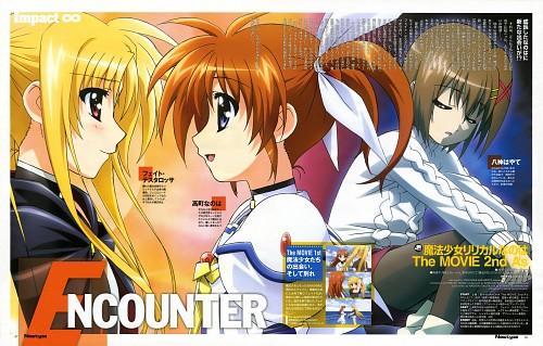 Seven Arcs, Mahou Shoujo Lyrical Nanoha, Hayate Yagami, Nanoha Takamachi, Fate Testarossa
