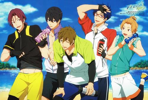 Shinpei Sawa, Kyoto Animation, Free!, Haruka Nanase (Free!), Makoto Tachibana