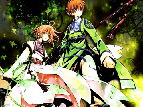 CLAMP, Bee Train, Tsubasa Reservoir Chronicle, Syaoran Li, Sakura Kinomoto Wallpaper