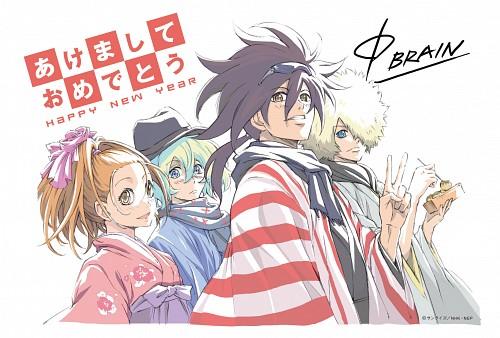 Sunrise (Studio), Phi Brain: Kami no Puzzle, Freecell, Nonoha Itou, Kaito Daimon