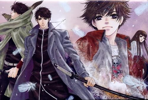 Miyuki Abe, Hakkenden, Ao (Hakkenden), Shino Inuzuka, Sousuke Inukawa