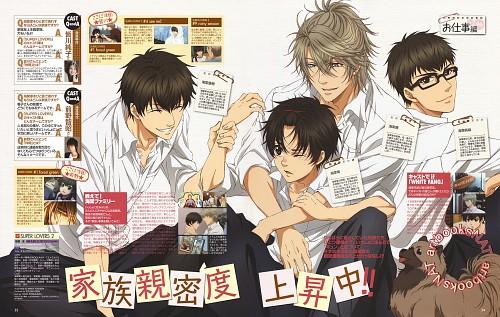 Miyuki Abe, Super Lovers, Shima Kaidou, Ren Kaidou, Haru Kaidou