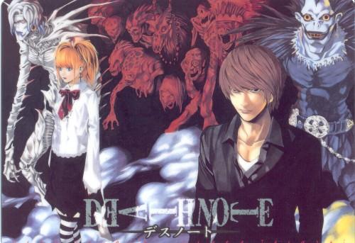 Takeshi Obata, Death Note, Ryuk, Light Yagami, Rem