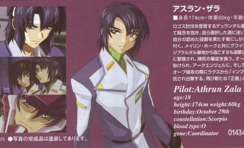 Sunrise (Studio), Mobile Suit Gundam SEED Destiny, Athrun Zala