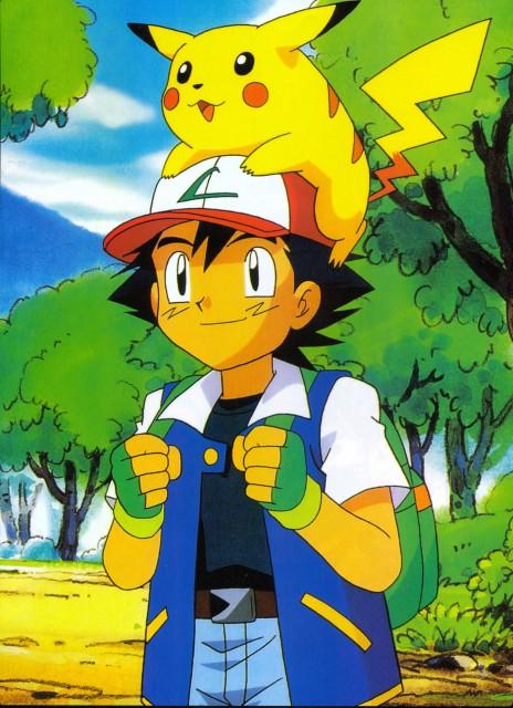 Nintendo, OLM Digital Inc, Pokemon, Pikachu, Ash Ketchum
