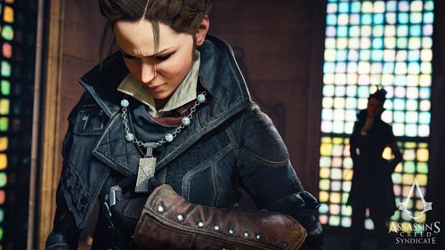 Ubisoft, Assassin's Creed Syndicate, Evie Frye, Lucy Thorne, Game CG