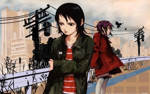 Serial Experiments Lain, Arisu Mizuki, Lain Iwakura Wallpaper