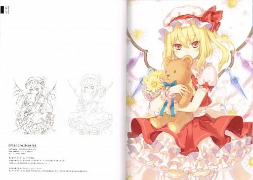 6U, ANOTHER (Artbook), Touhou, Flandre Scarlet