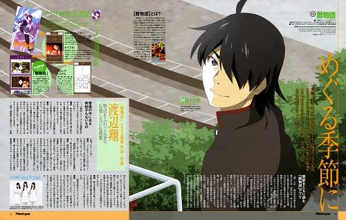 Shaft (Studio), Bakemonogatari, Koyomi Araragi, Newtype Magazine