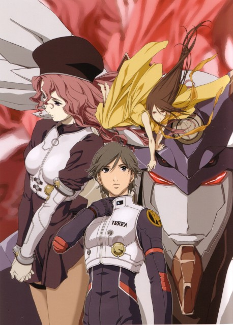 BONES, RahXephon, RahXephon Illustrations Collection, Ayato Kamina, Reika Mishima