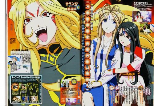 Kousuke Fujishima, Anime International Company, Ah! Megami-sama, Marller, Belldandy
