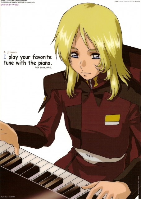 Sunrise (Studio), Mobile Suit Gundam SEED Destiny, Rey Za Burrel
