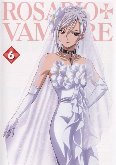 Akihisa Ikeda, Gonzo, Rosario + Vampire, Moka Akashiya, DVD Cover