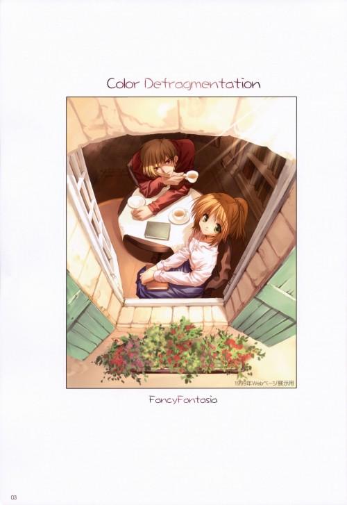 Ryo Ueda, Color Defragmentation, Comic Market 75
