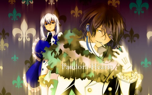 Jun Mochizuki, Pandora Hearts, Gilbert Nightray, Echo Wallpaper