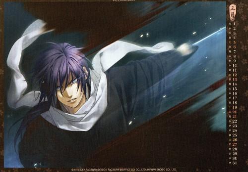 Yone Kazuki, Studio Deen, Idea Factory, Hakuouki Shinsengumi Kitan, Hajime Saitou (Hakuouki)