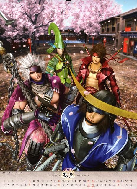 Makoto Tsuchibayashi, Capcom, Sengoku Basara, Motochika Chosokabe (Sengoku Basara), Yukimura Sanada