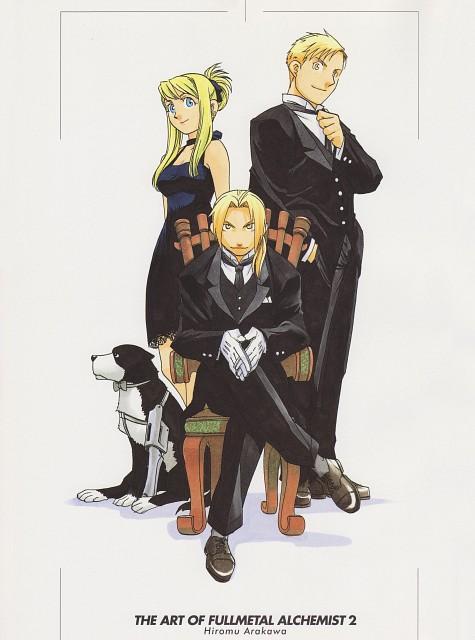 Hiromu Arakawa, BONES, Fullmetal Alchemist, Fullmetal Alchemist Artbook Vol. 2, Winry Rockbell